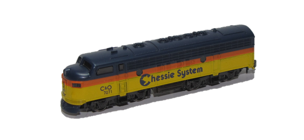 Marklin z scale locomotive Chessie F-7