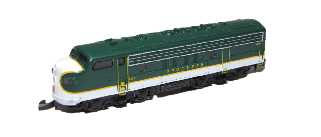 Marklin z scale locomotive F-7 Southern