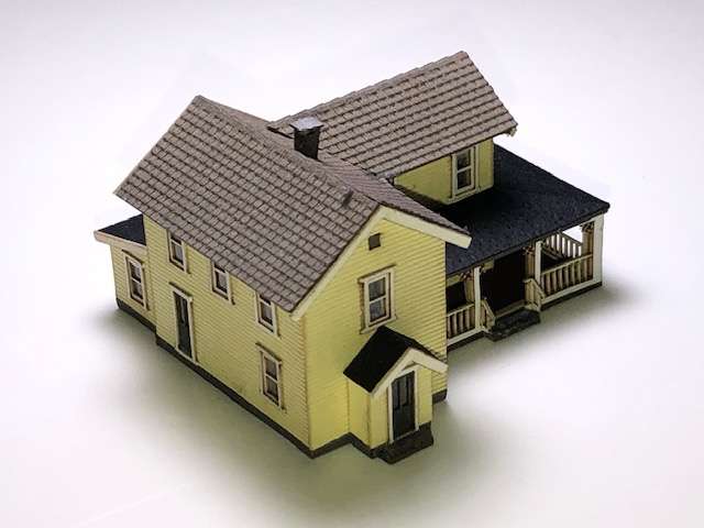 Archistories Turn Of The Century House Z Scale